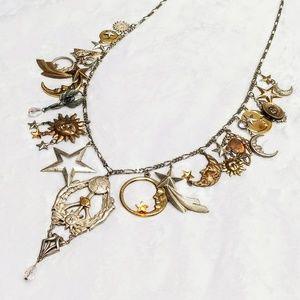 Jewelry - 🌞 Vintage 🌔 Celestial 🌠 Charm Necklace